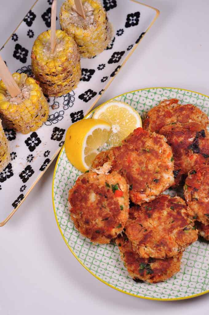 Maryland Style Crab Cakes Finger Licking Crispy Little