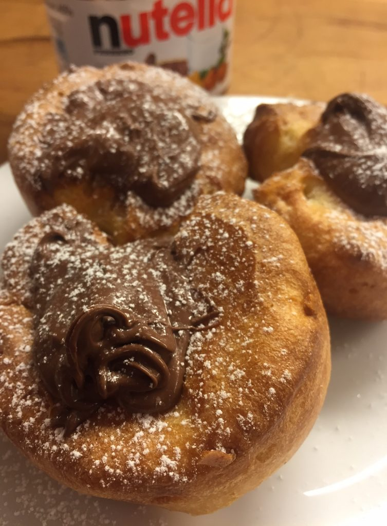 best ever yorkshire puddings with nutella