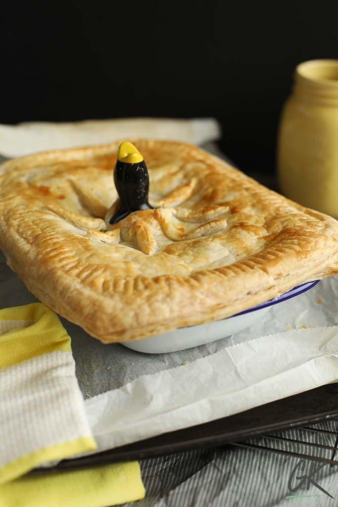 leftover chicken pie take 2