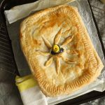 Leftover chicken pie from above