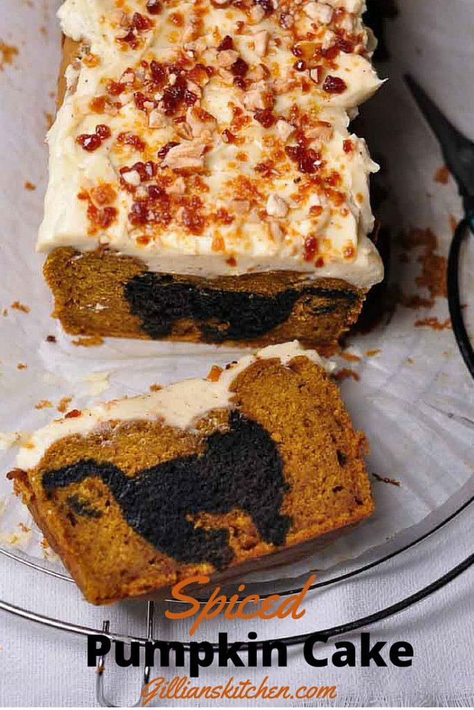 spiced pumpkin buckwheat cake pin