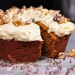 Spiced Pumpkin Buckwheat Cake
