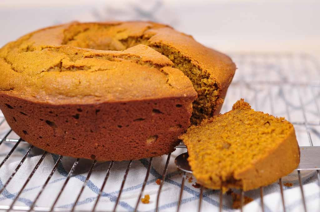 spiced pumpkin buckwheat cake 2