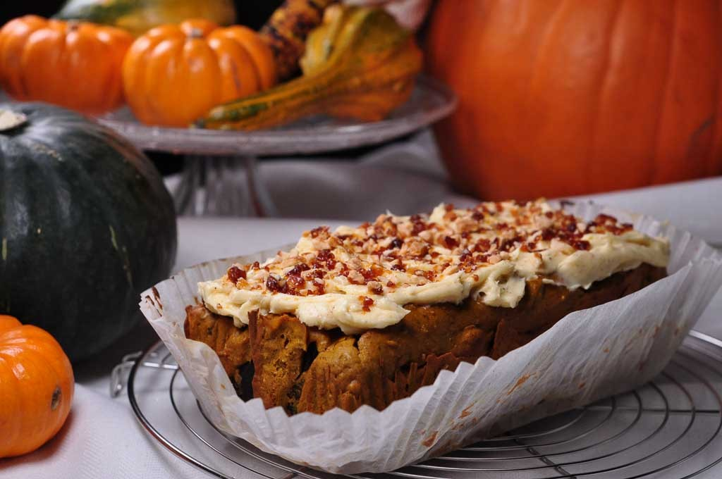 spiced pumpkin buckwheat cake 3