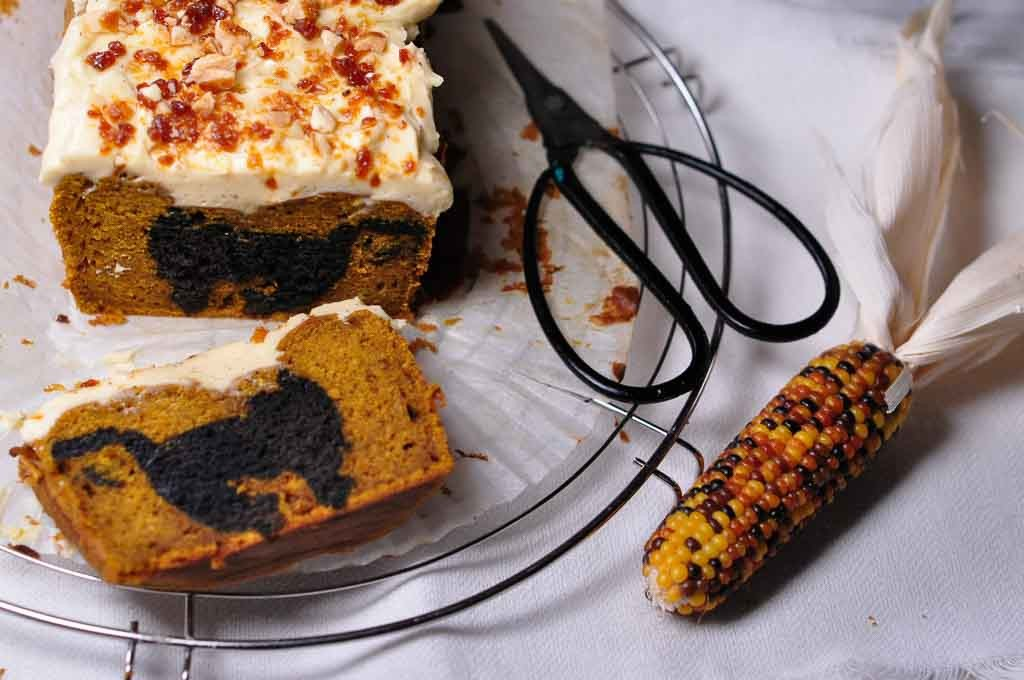 spiced pumpkin buckwheat cake 5