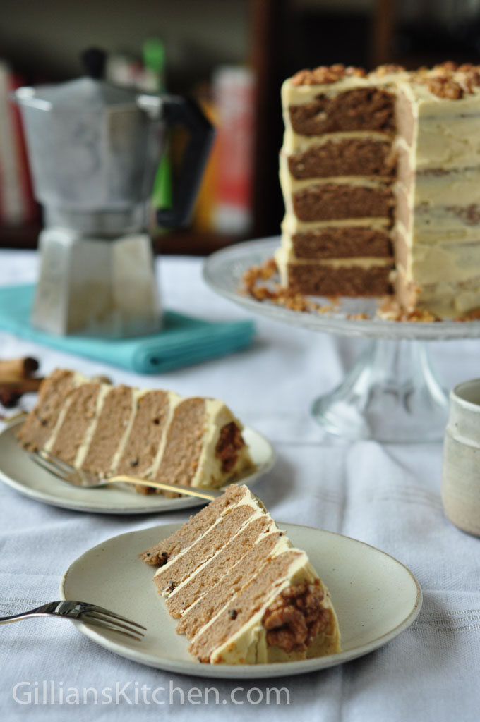 cake and slices