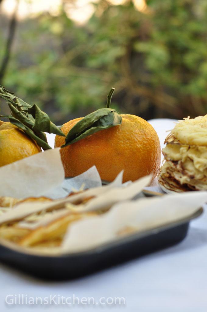 mandarins & pancakes