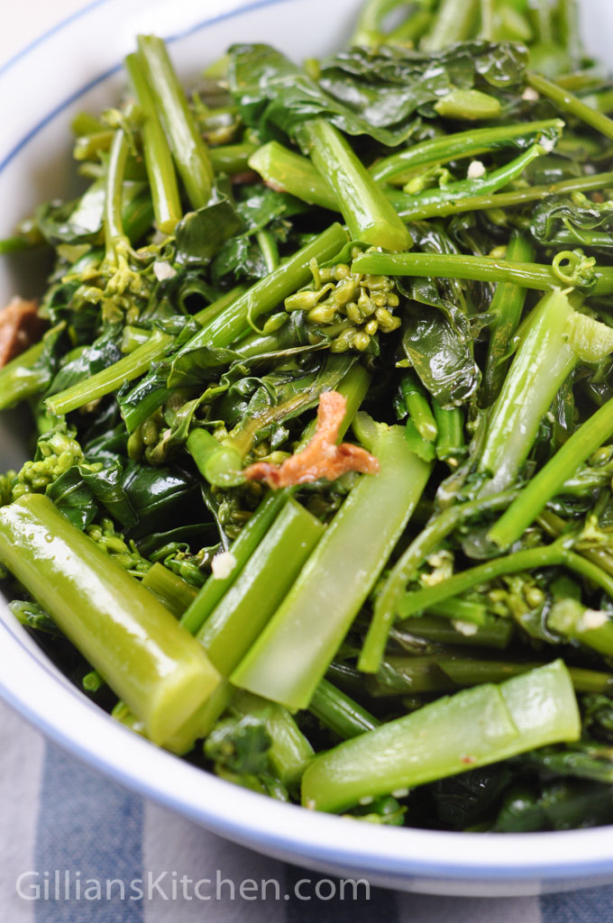 Sauteed Chinese Greens