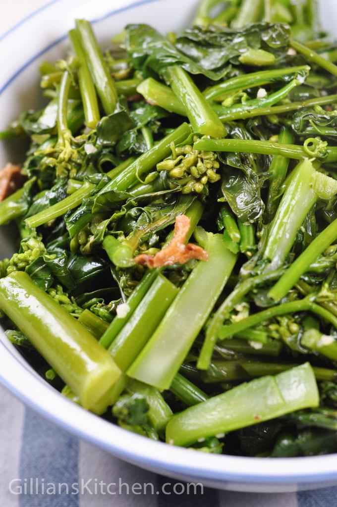 Sauteed Chinese Greens