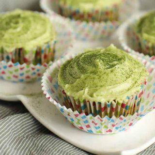Green Velvet Matcha Cupcakes