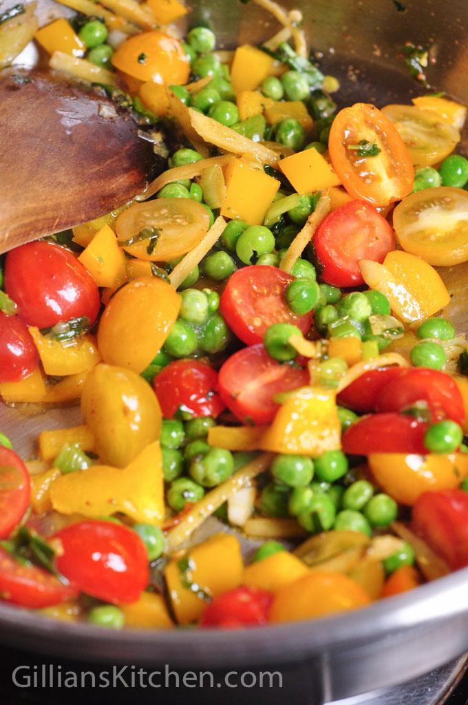 vegeree not kegeree frying