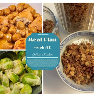 weekly meal planner week #10
