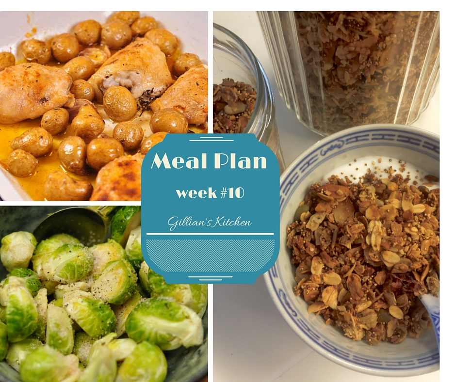 weekly meal plan week #10