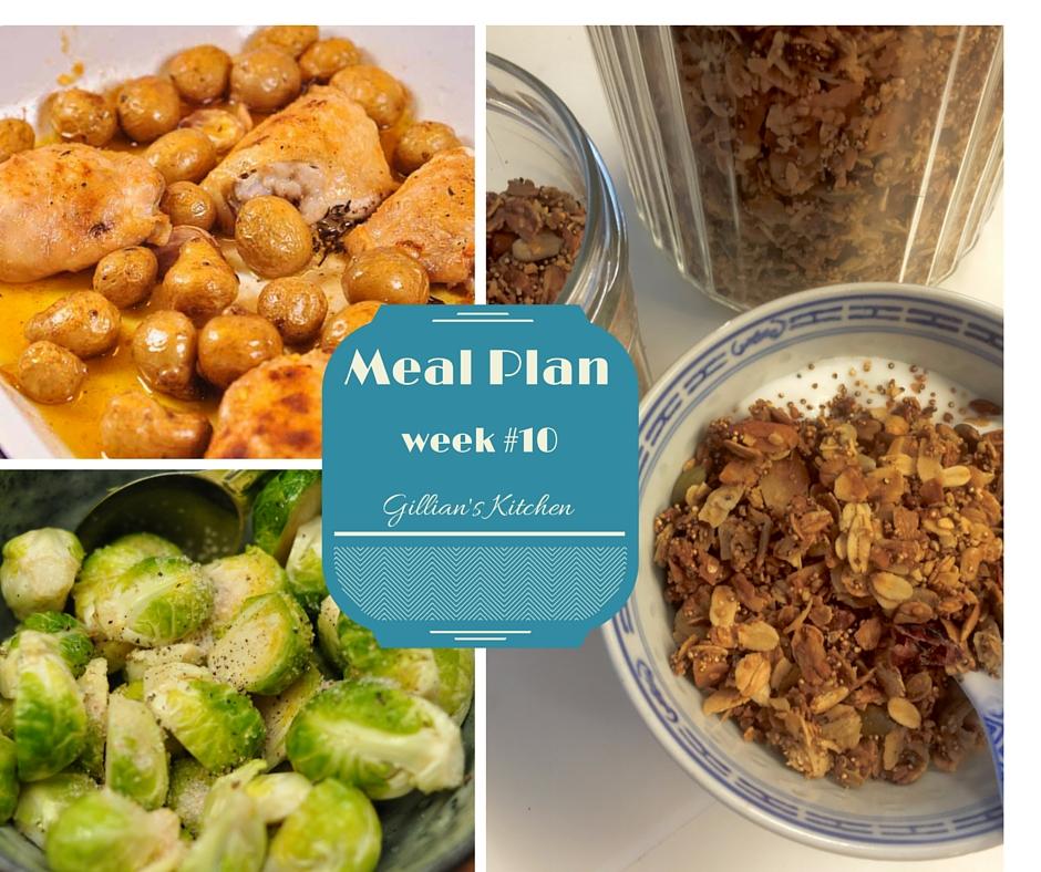 weekly meal plan week #10