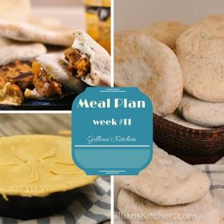 weekly meal plan week #11