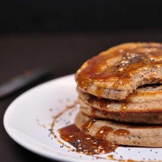 Burmese Pancakes bitten