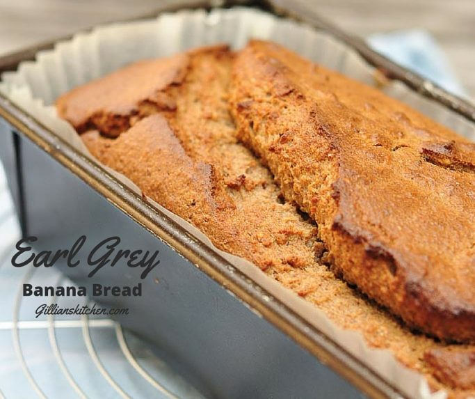 Earl Grey Banana Bread for FB