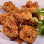 Italian Fried Chicken chicken morsels fried landscape close up