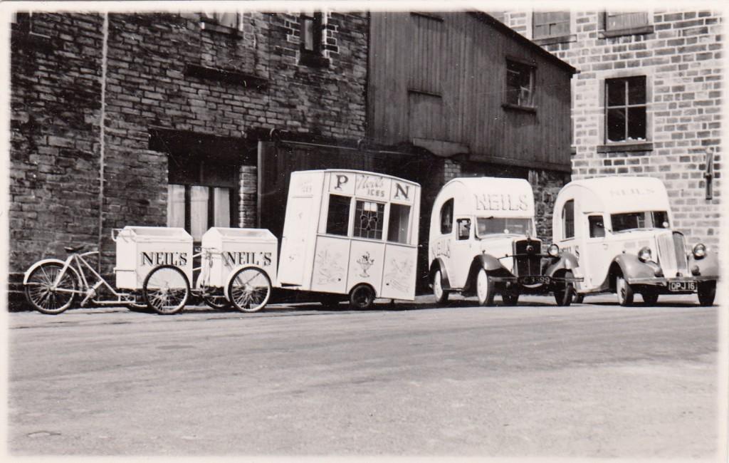 Paolozzi Meat Sauce Ice cream Vans