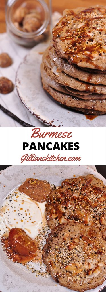 Burmese Pancakes Long Pin