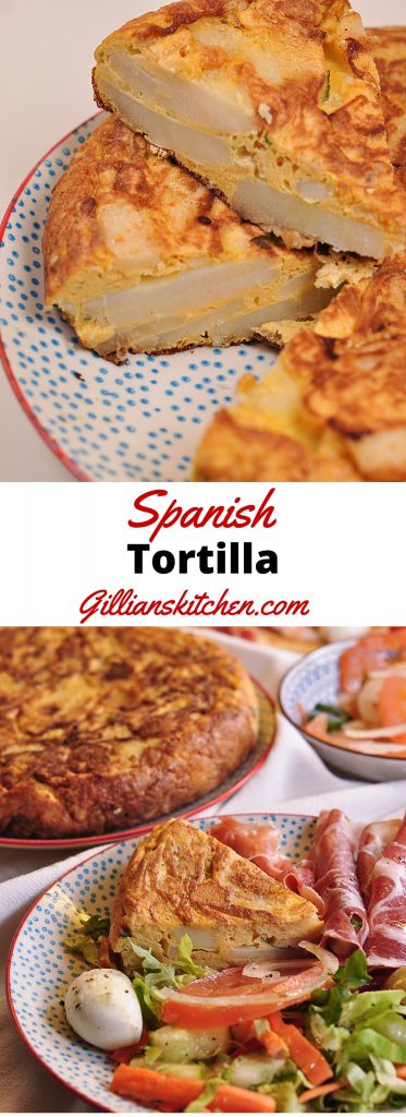 Spanish tortilla long pin