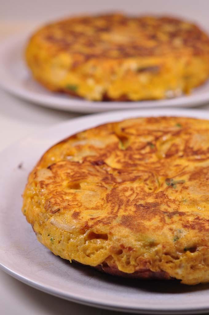 two Spanish Tortilla