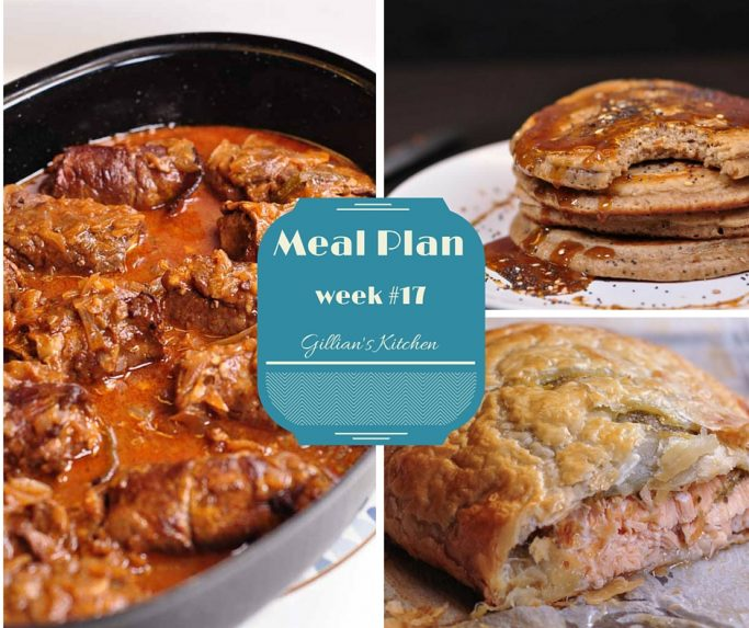 Weekly Meal Plan Week #17