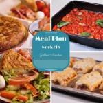 Weekly Meal Plan (Week 18)