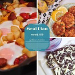 Weekly Meal Plan (week 19)