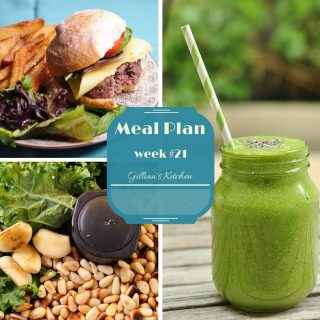 weekly meal plan week #21