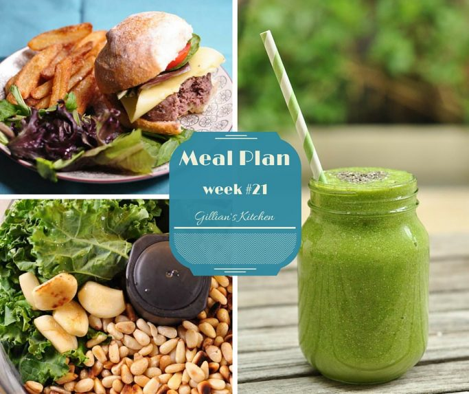 weekly meal plan week #21