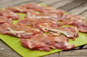 pork saltimbocca ready to cook