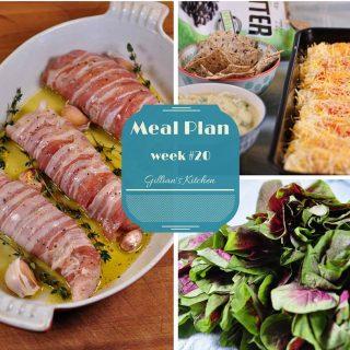 Weekly Meal Plan (week 20)