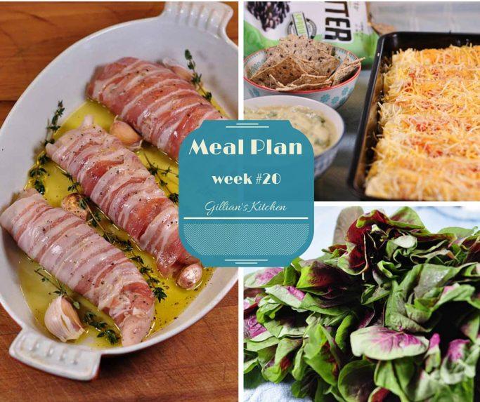 weekly meal plan week 20