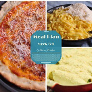 weekly meal plan week #24