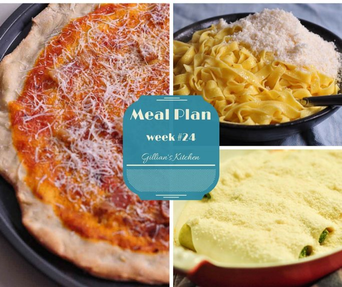 weekly meal plan week #24