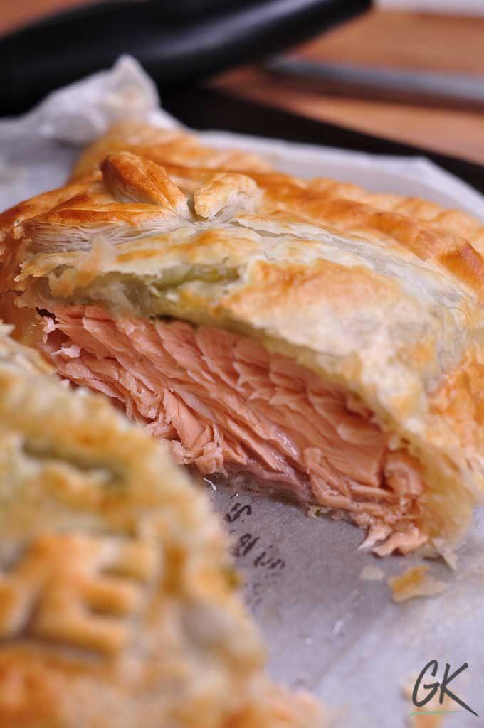 pesto salmon en croute