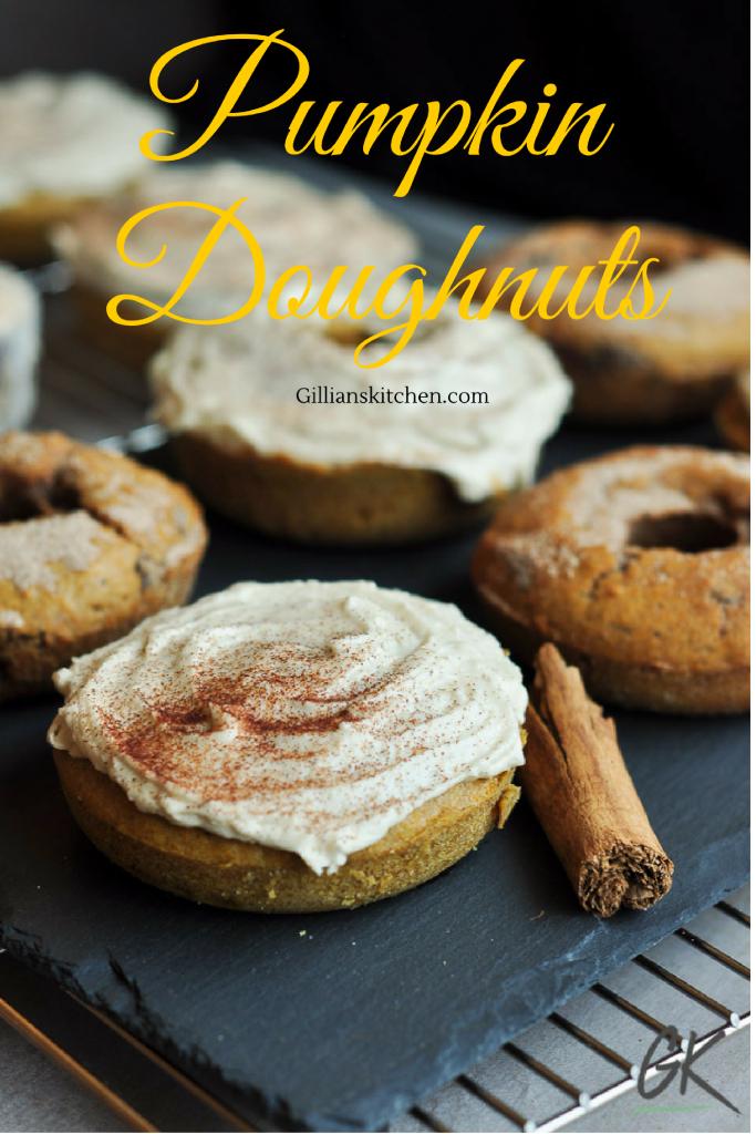 Pumpkin doughnuts pin
