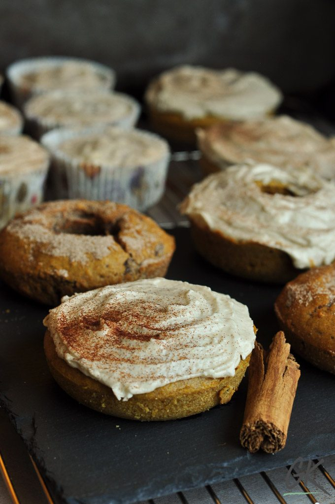 pumpkin doughnuts & muffins
