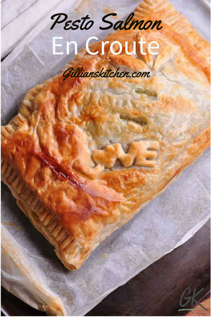 pesto salmon en croute pin