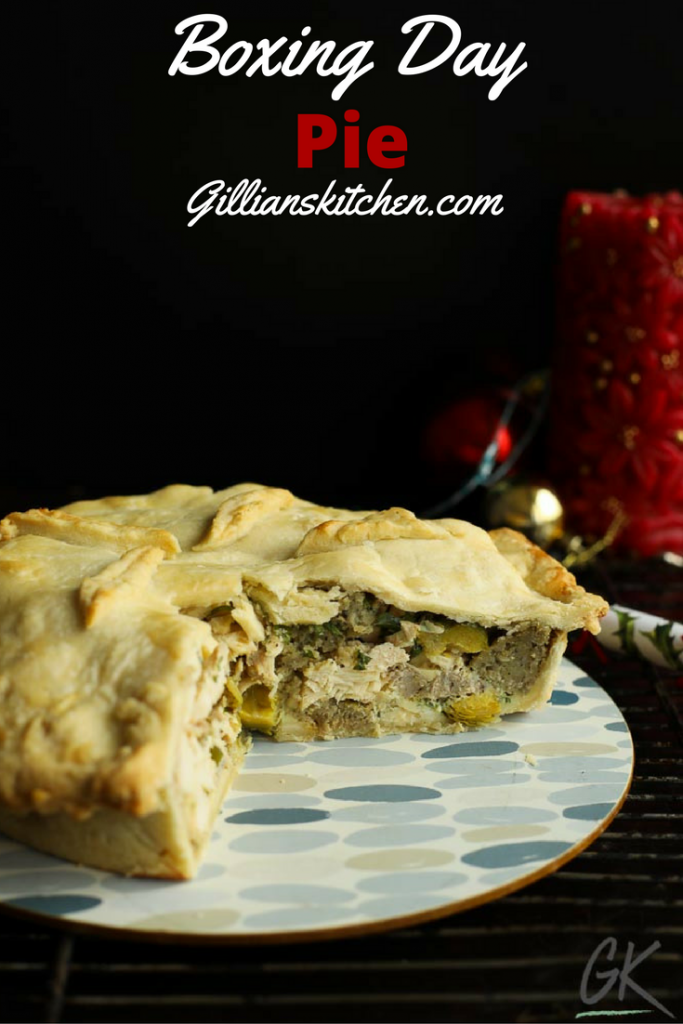boxing day pie pin