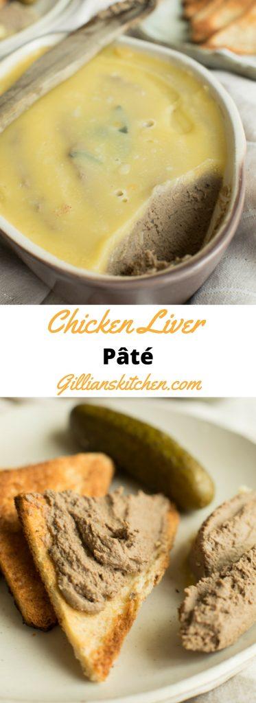 chicken liver Pâté long pin