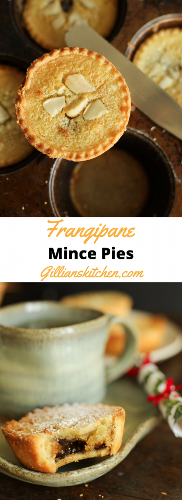 frangipane mince pies long pin