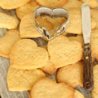 Heart Shaped Shortbread