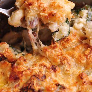 Cauliflower & Kale macaroni cheese profile_2
