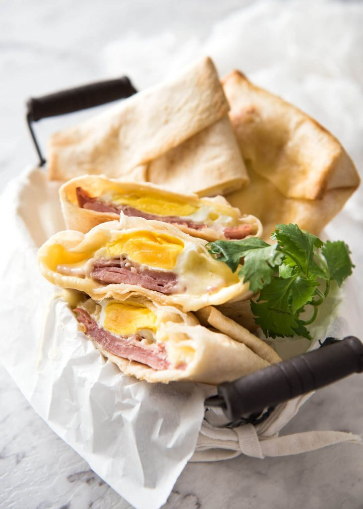 ham egg and cheese pockets - meal plan week 9