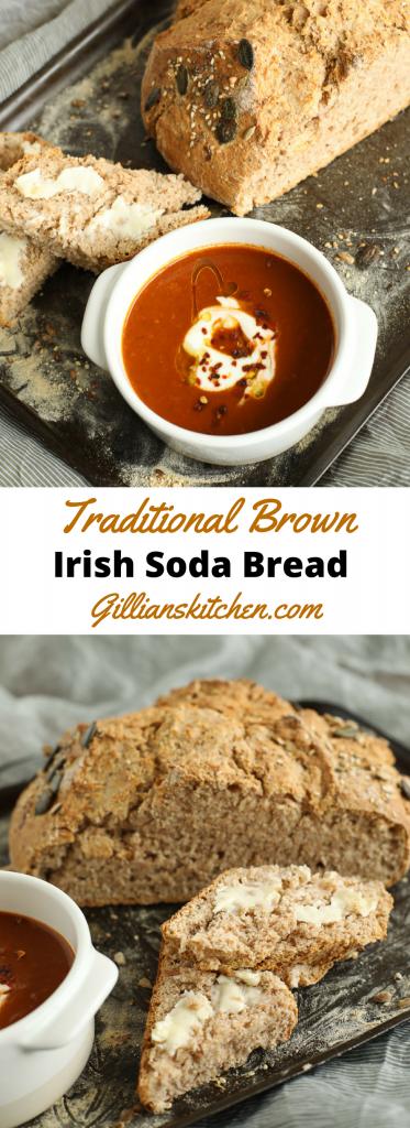 Traditional Brown Irish Soda Bread