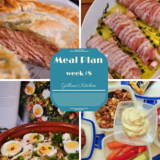 weekly meal plan week 8
