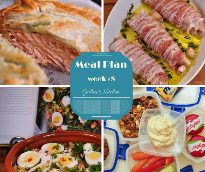 weekly meal plan week 8