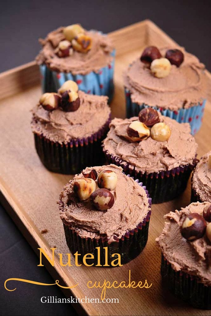 Nutella cupcakes weekly meal plan
